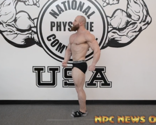 Open Middleweight Bodybuilding 2020 NPC North American Winner Nathan Glaser Posing Practice Video