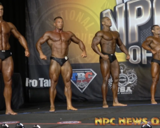 2020 NPC Showdown of Champions Classic Physique Overall Winner Video