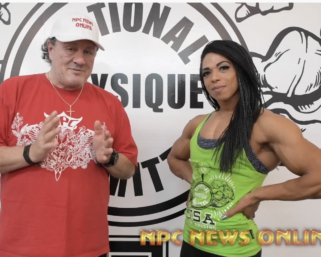 IFBB Pro League Women's Physique Pro Jada Beverly Interviewed By J.M. Manion