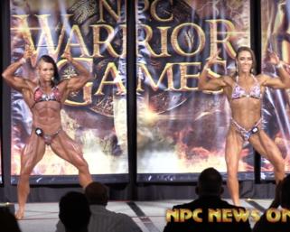 2020 NPC Warrior Games Women's Physique Overall Video