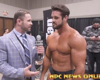 IFBB Pro League Classic Physique Pro Logan Franklin interview : 2020 NPC Texas State Championships