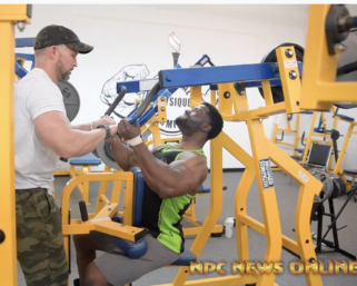 Trainer @fostertrained puts #NPC Men's Bodybuilder Eric Wood and NPC Classic Physique Ken Rogers