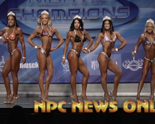 2020 NPC Night of ChampionsBikini Finals Video