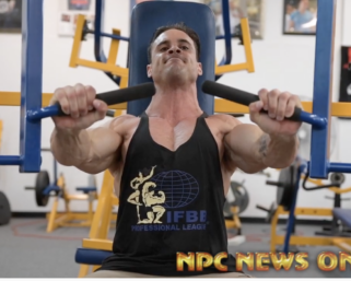 #Exclusive Training Video with @ifbb_pro_league Classic Physique @logan_franklin
