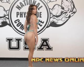 2020 Road To The Olympia with IFBB Pro League Bikini Pro Casey Samsel Posing