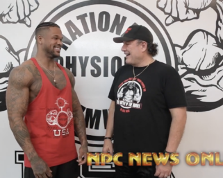 2020 Road To The Olympia Interview with IFBB Pro League Men's Physique Clarence.Mcspadden