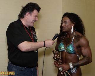 2020 NPC Universe Women's Physique Overall Winner Queen Thompson After Show Interview