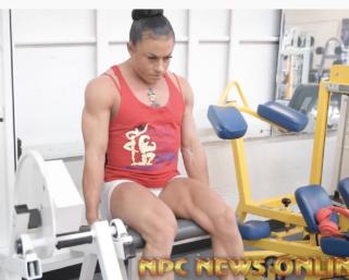 2020 Road To The Olympia: IFBB Pro League Women's Physique Pro Rachel Daniels Leg Training