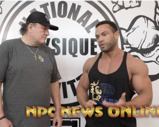 Road To The Olympia Interview with @ifbb_pro_league Classic Physique Pro Alex Cambronero