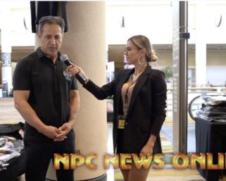 IFBB Pro League  Bikini Pro @raphamilagres  interviews Rico Barakat From NPC Wear