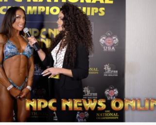 2020 NPC National Championships Women's Figure Overall Winner Ashley Lakomowski