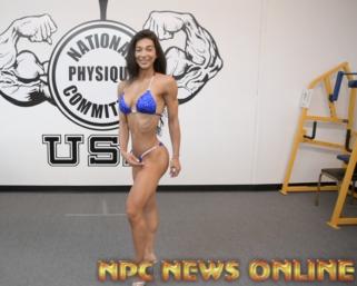 2020 Road To The Olympia: IFBB Pro League Bikini Pro Lauralie Chapados Posing Practice Video