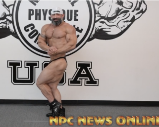 2020 Road To The Olympia with 212 Bodybuilder Guy Cisternino Posing Practice