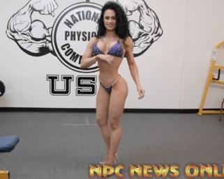 2020 Road To The Olympia: IFBB Pro League Bikini Pro Jennifer Dorie Posing Practice