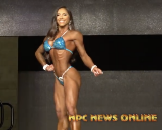 2020 IFBB Battle Of Texas Bikini WInner: 2x Bikini Olympia Champion Angelica Teixiera