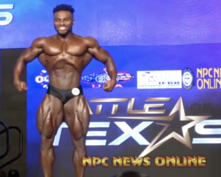 2020 IFBB Battle Of Texas Men's  Classic Physique WInner: Courage Opara Highlight Video.