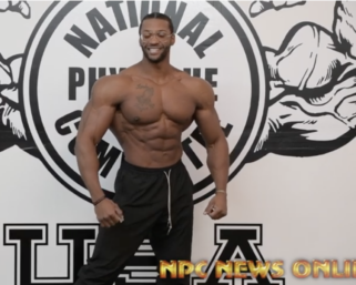 2020 Road To The Olympia:  IFBB Pro League Olympia Men's Physique Champ Ray Edmonds Posing