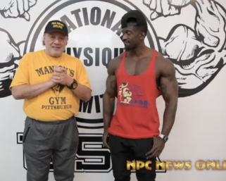 2020 Road To The Olympia Interview with IFBB Pro League Men's Physique Competitor George Brown