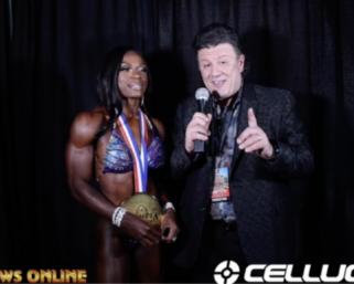 2020 Olympia: Women's Figure Winner Cyd Gillon interviewed by J.M. Manion