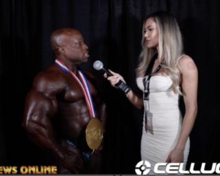 2020 Olympia: 212 Men's Bodybuilding Winner Shaun Clarida With Raphaela Milagres