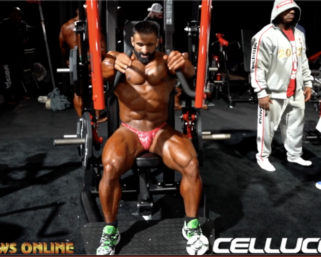 2020 Mr.Olympia: Men's Bodybuilding Backstage Video