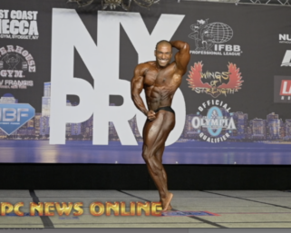 2020 @ifbb_pro_league NY Pro Classic Physique 5th Place Winner Amit Roy Posing Routine