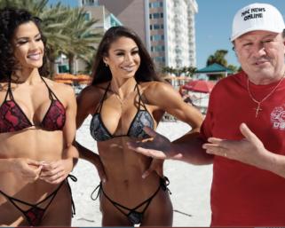 Janet Layug & Etila Santiago 2020 Clearwater Beach Photo Shoot Video