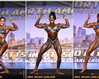 2020 NPC National Championships Women's Figure IFBB Pro League Pro Card Winners