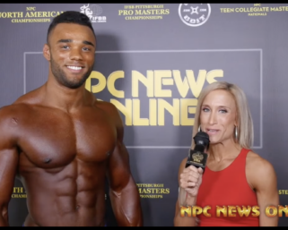 2020 NPC North American Men's Physique Overall Champion Alexander Toplyn
