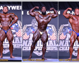 2020 NPC National Championships Bodybuilding IFBB Pro League Pro Card Winners