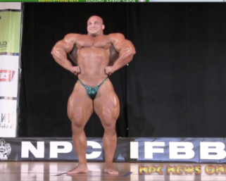 """Mr.Olympia Mamdouh """"Big Ramy"""" Elssbiay Guest Posing at the 2014 IFBB Pittsburgh Pro"""