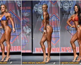 2020 NPC Junior Nationals Bikini IFBB Pro League Pro Card Winners