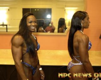 2020 NPC Nationals Women's Backstage Pt.5  Video