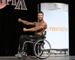 2020 Wheelchair Olympia 6th Place Bradley Betts Posing Routine