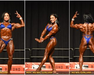 2019 NPC Junior National ChampionshipsWomen's Physique Overall Jacqueline Estrada