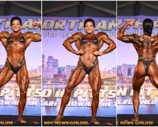 2020 NPC North American Championships Women's Bodybuilding Overall Winner Jenn Schmidt