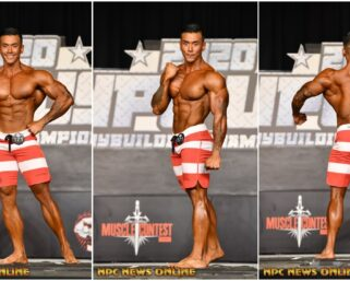 2020 NPC USA Men's Physique Overall Winner JONAS JAMENA