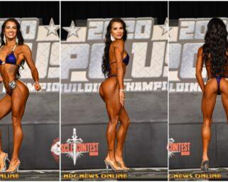 2020 NPC USA Bikini Overall Winner AIMEE VELASQUEZ