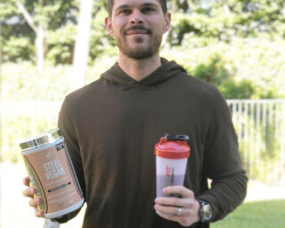 SteelFit®️ recently introduced its NEW plant-based protein powder, Steel Vegan! 🌱 💪