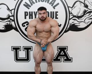 Road To The NPC Pittsburgh 2021: NPC Bodybuilder Eleazar Miller Posing Practice