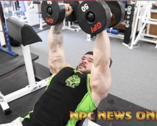 Road To The NPC Pittsburgh 2021 –  NPC Bodybuilder Eleazar Miller Training