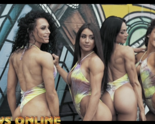 Sneek Peek Video from the Monday After The 2020 @ifbb_pro_league @mrolympiallc Photo Shoot