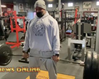 IFBB Pro League Bodybuilder Juan Morel doing 600lb Deadlift Video