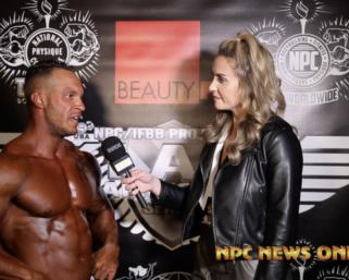 2021 NPC BORDER KLASH:  Men's Bodybuilding Overall Winner Scott Fogelsonger