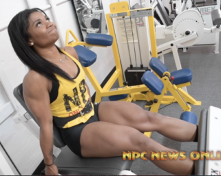 Video From The Monday After The 2020 @ifbb_pro_league @mrolympiallc Photo Shoot