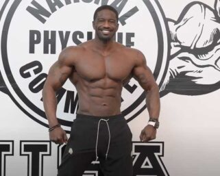 Road To The IFBB Pittsburgh Pro 2021 – George Brown Posing