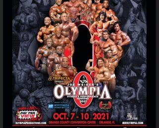 HERE IT IS!!! The official poster for this year's Olympia