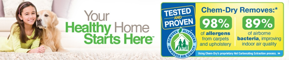 Chem-Dry Allergy Study - Your Healthy Home Starts Here