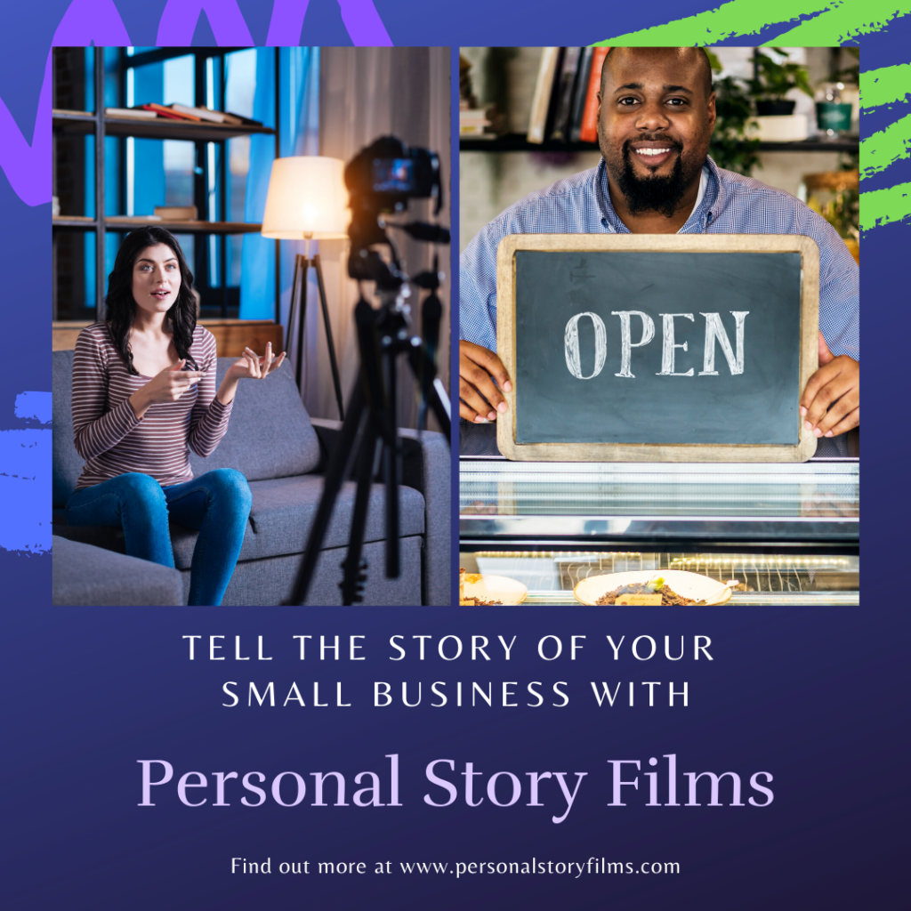 tell the story of your small business with a video business card