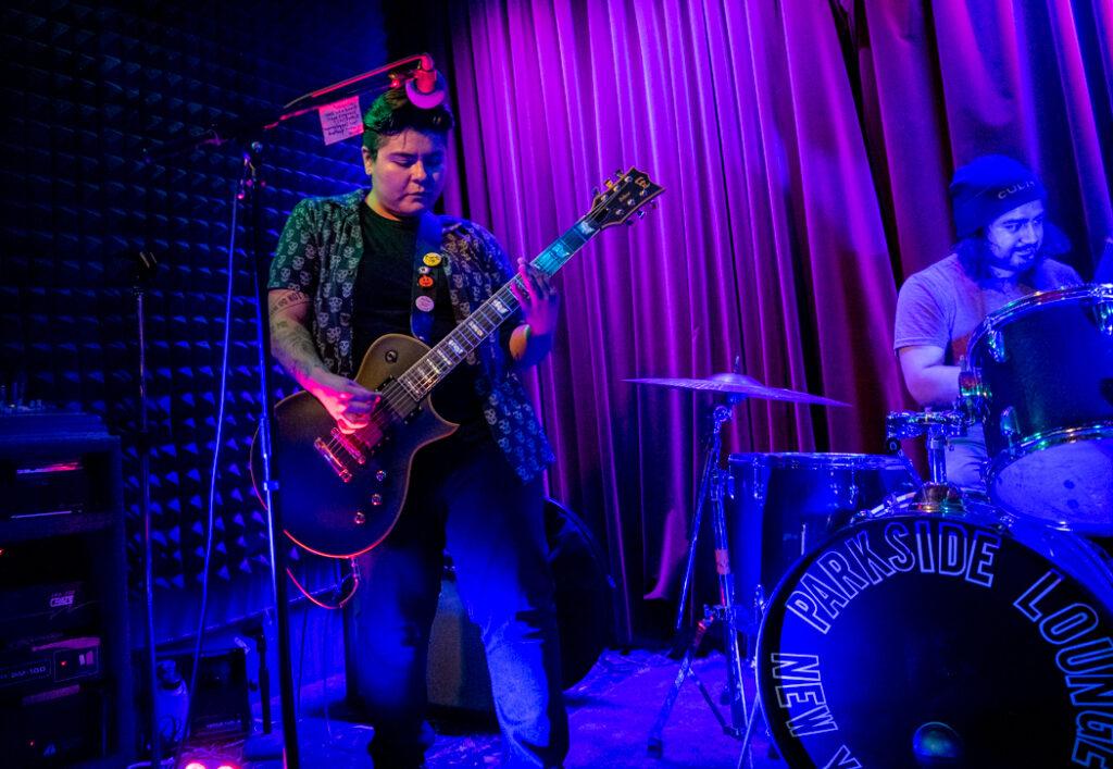 Jekssaira performing at Parkside Lounge